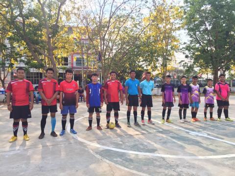 โครงการแข่งขันกีฬาฟุตซอลโนนสุวรรณ คัพ