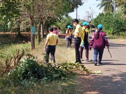 โครงการบำเพ็ญสาธารณประโยชน์ วันที่ 5 ธันวาคม 2563