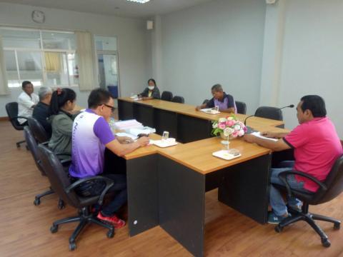 ประชุมคณะกรรมการติดตามและประเมินผลแผนพัฒนาเทศบาลตำบลโนนสุวรรณ