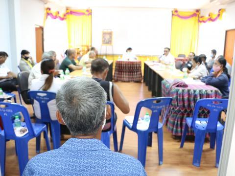 การประชุมเชิงปฏิบัติการขององค์กรจัดทำแผนพัฒนาท้องถิ่น และคณะกรรมการติดตามและประเมินผลแผนพัฒนาท้องถิ่น ประจำปีงบประมาณ พ.ศ. ๒๕๖๓